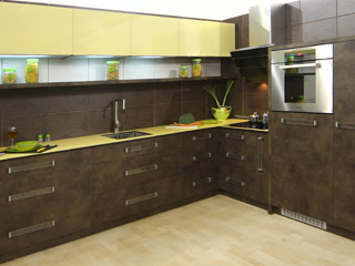 "Kitchen ""Compact bronze"""